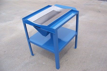 Metal Strainer Table